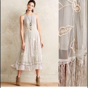 Anthropologie Leifsdotter winter solstice dress  4